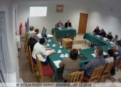 III sesja Rady Gminy Krasne