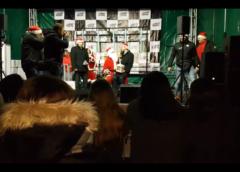 Widowiskowy wjazd Mikołaja, wierszyk od Burmustrza i śpiewający Starosta